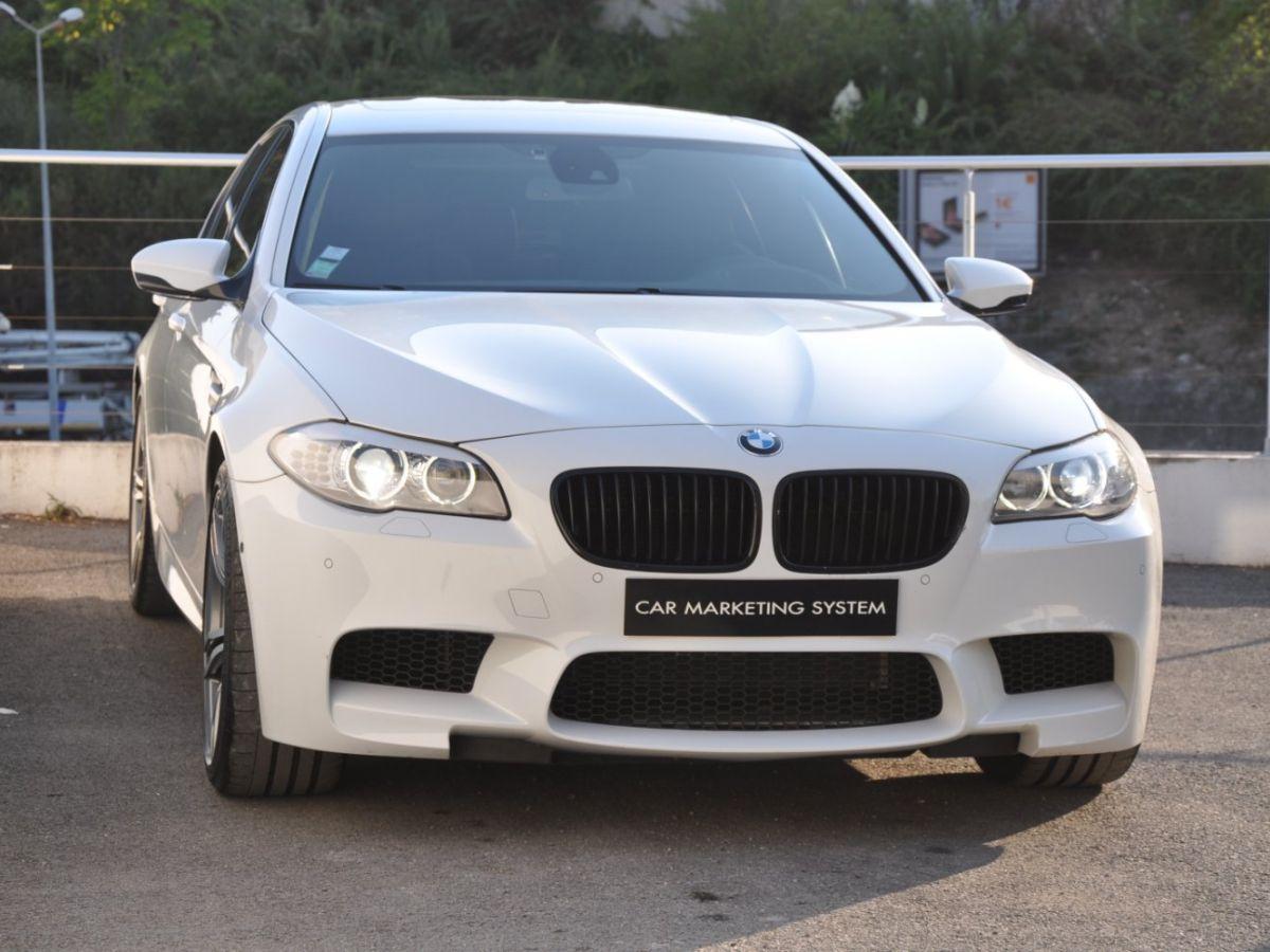 BMW M5 F10 M 560ch DKG7 Blanc - 3