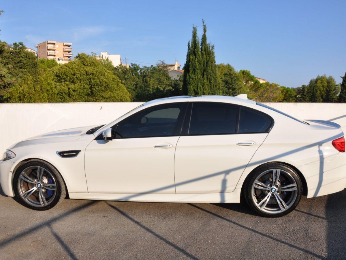 BMW M5 F10 M 560ch DKG7 Blanc - 4