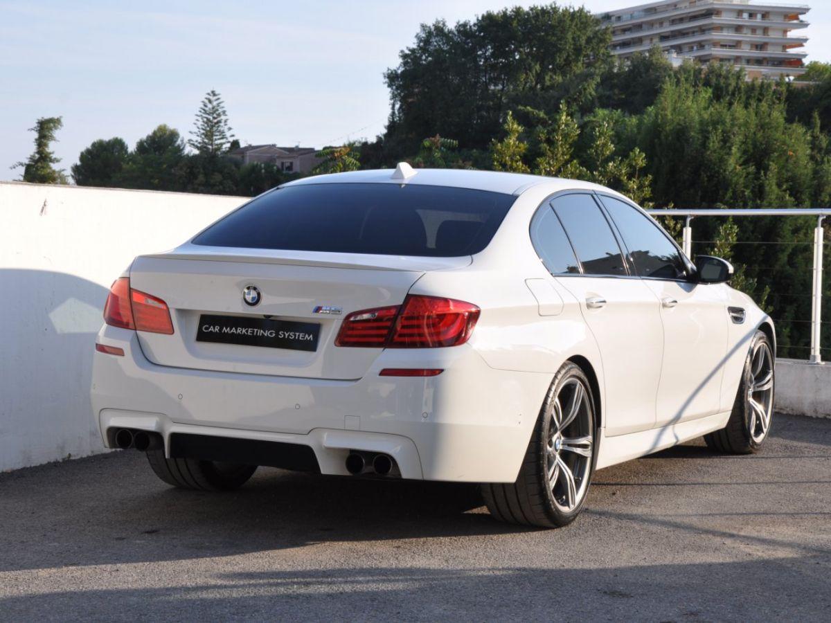 BMW M5 F10 M 560ch DKG7 Blanc - 5