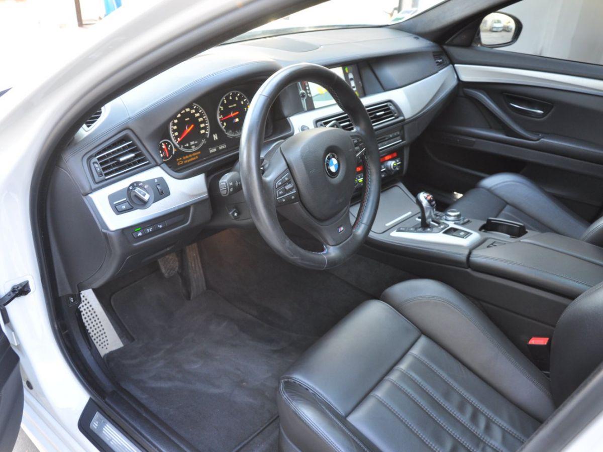 BMW M5 F10 M 560ch DKG7 Blanc - 10