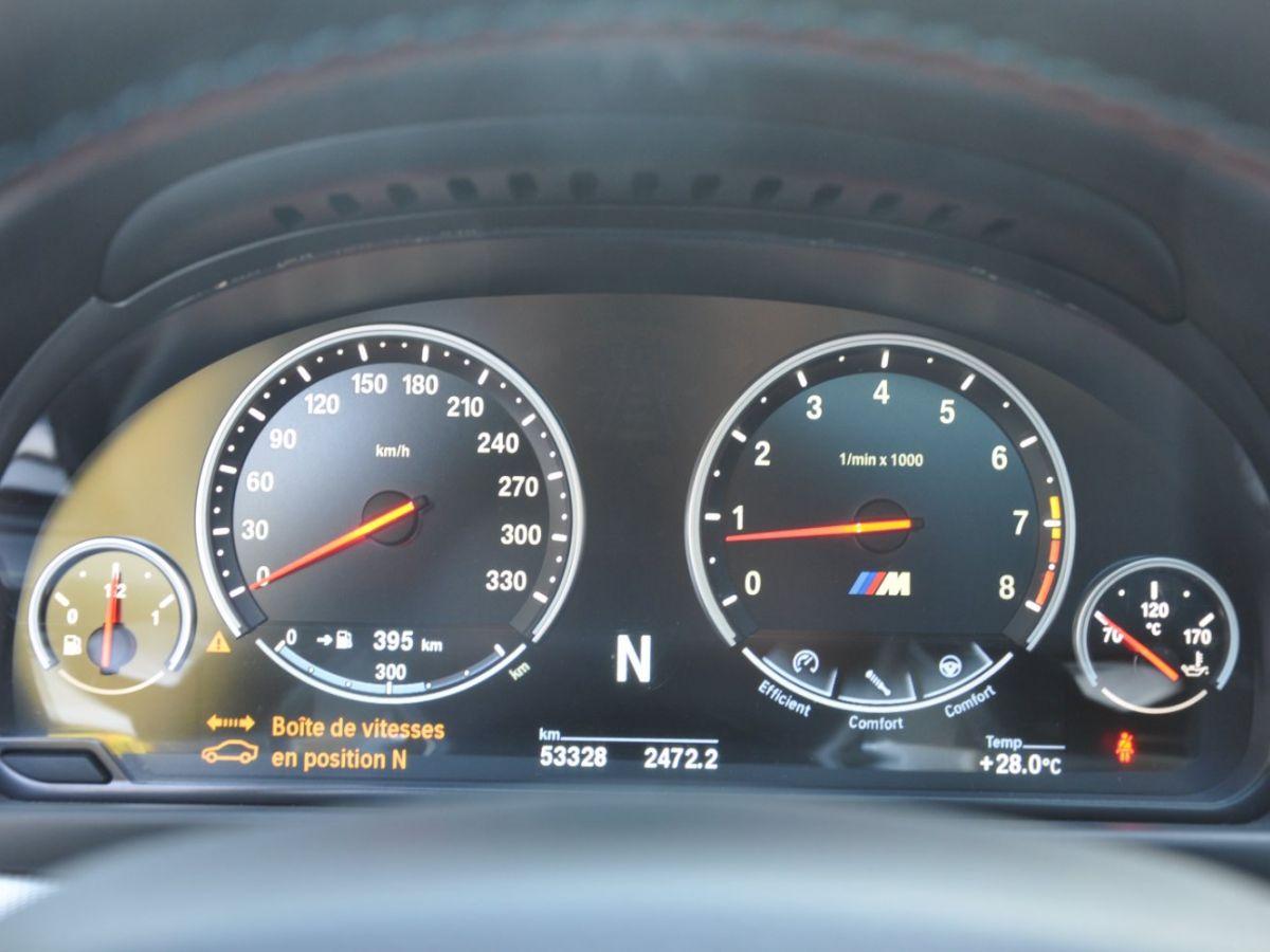 BMW M5 F10 M 560ch DKG7 Blanc - 25