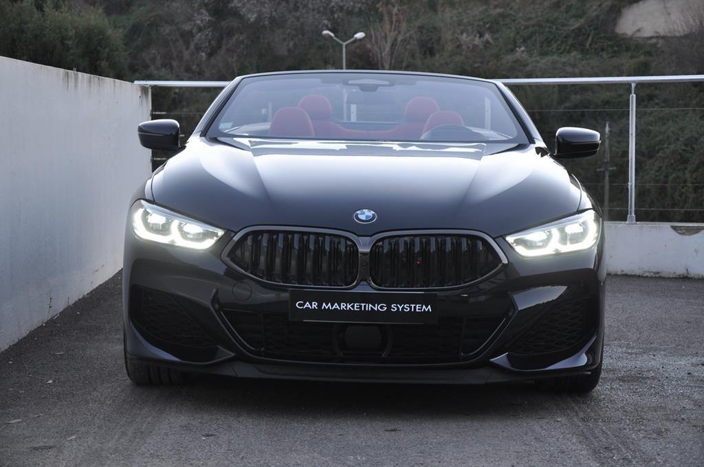 BMW Série 8 M850I Cabriolet Xdrive Carbonscwharz Metal - 2