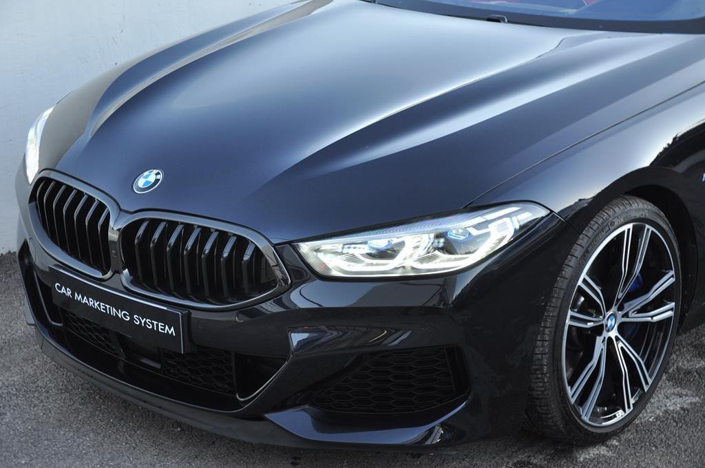 BMW Série 8 M850I Cabriolet Xdrive Carbonscwharz Metal - 3
