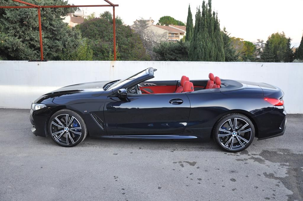 BMW Série 8 M850I Cabriolet Xdrive Carbonscwharz Metal - 4
