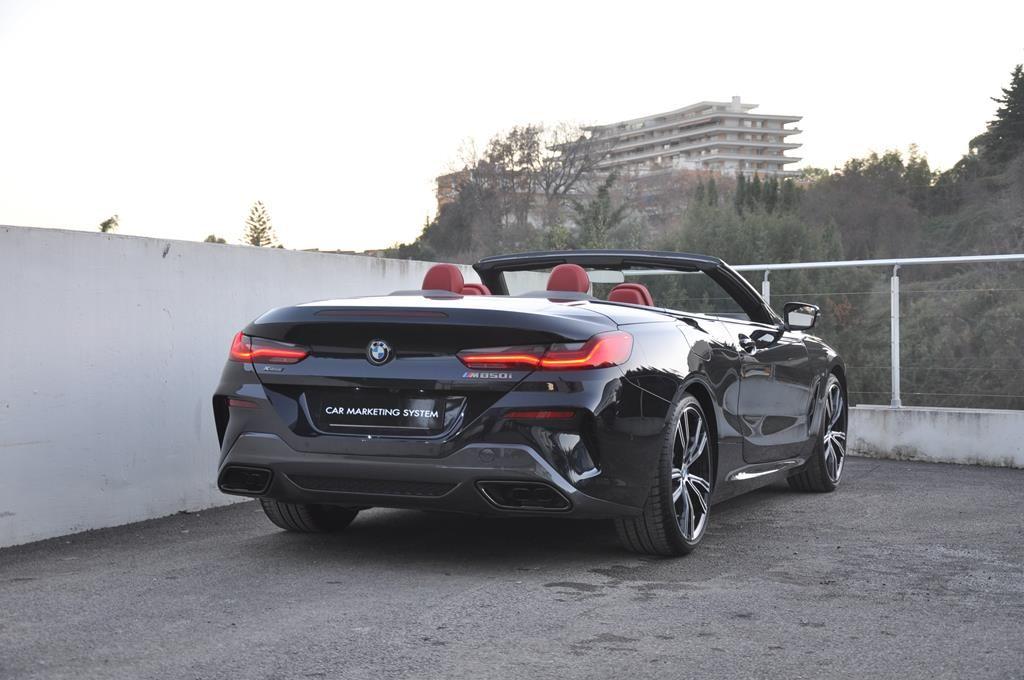 BMW Série 8 M850I Cabriolet Xdrive Carbonscwharz Metal - 5