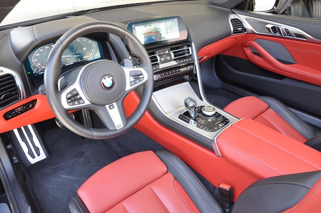 BMW Série 8 M850I Cabriolet Xdrive Carbonscwharz Metal - 9