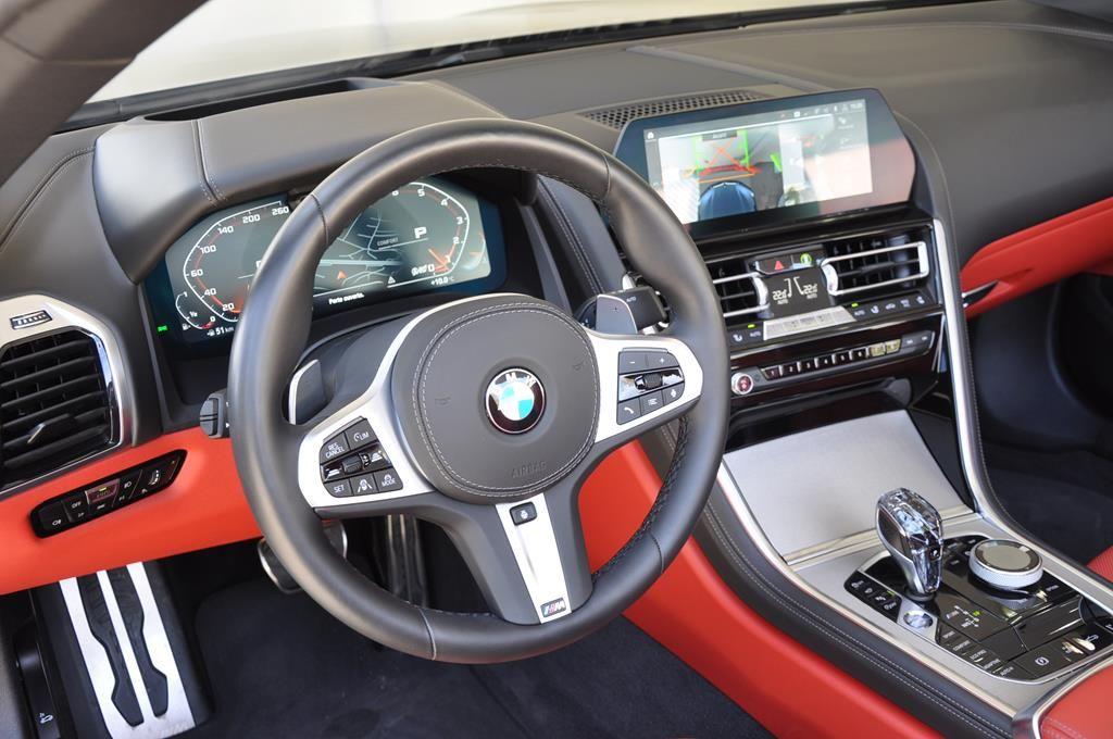 BMW Série 8 M850I Cabriolet Xdrive Carbonscwharz Metal - 10
