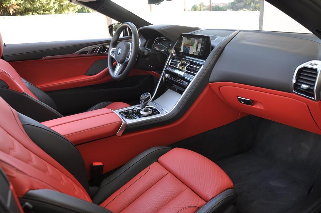 BMW Série 8 M850I Cabriolet Xdrive Carbonscwharz Metal - 12