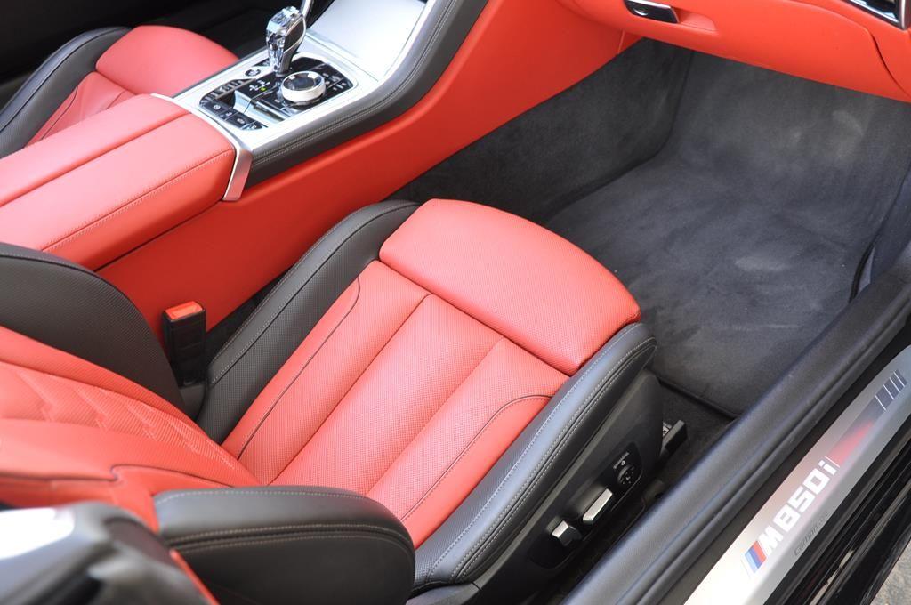 BMW Série 8 M850I Cabriolet Xdrive Carbonscwharz Metal - 13