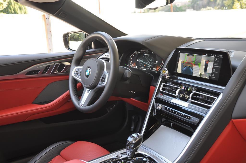 BMW Série 8 M850I Cabriolet Xdrive Carbonscwharz Metal - 14