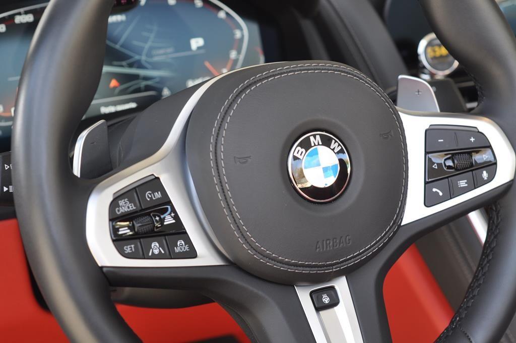 BMW Série 8 M850I Cabriolet Xdrive Carbonscwharz Metal - 16