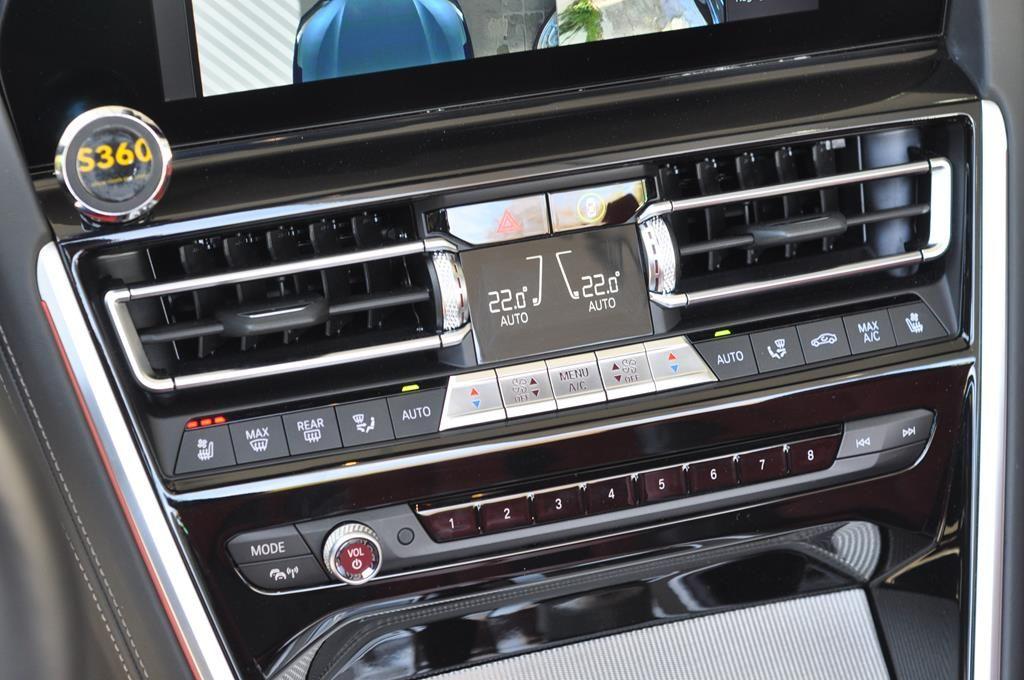 BMW Série 8 M850I Cabriolet Xdrive Carbonscwharz Metal - 19