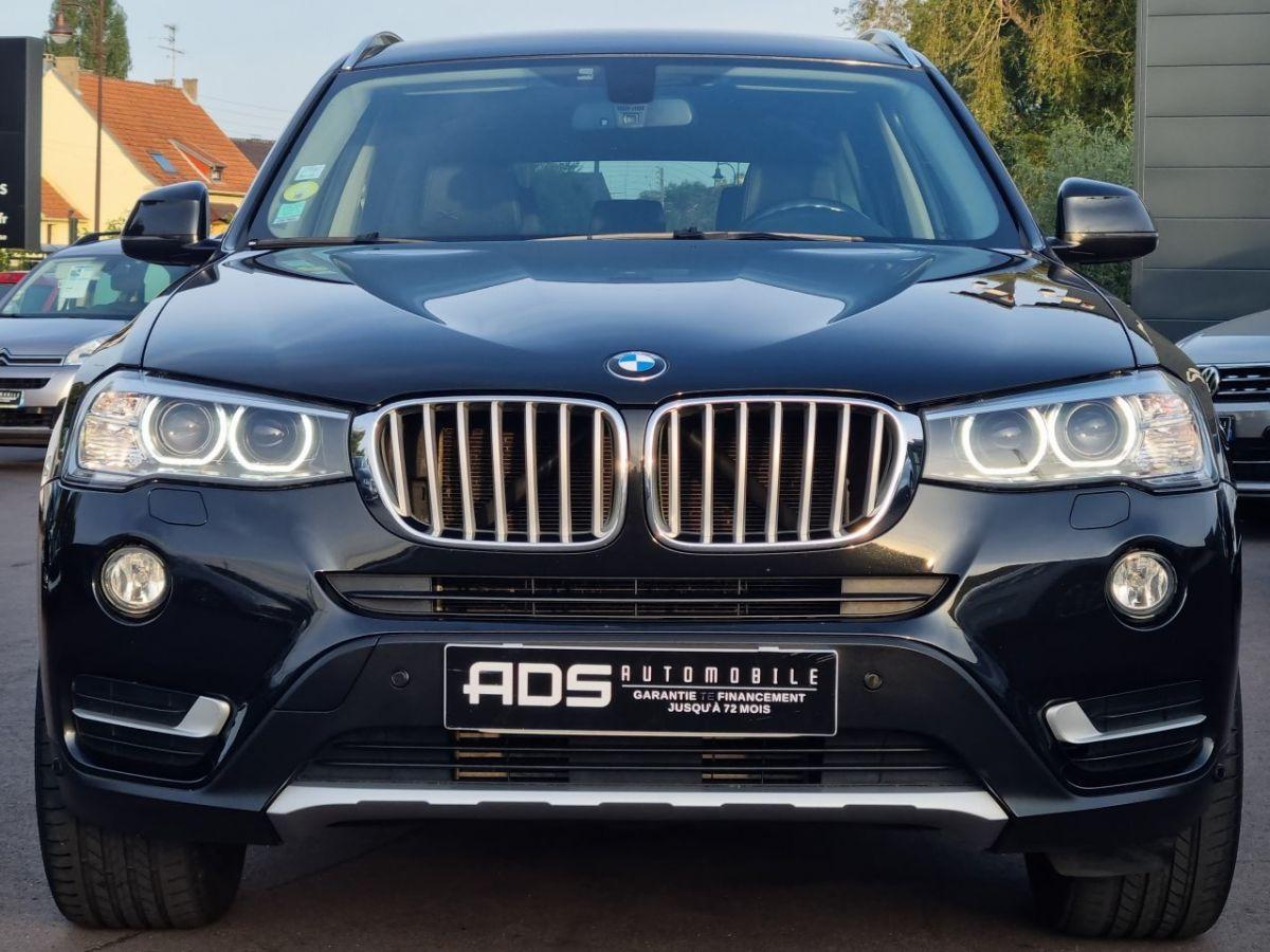 BMW X3 II (F25) xDrive20d 190ch xLine NOIR - 2