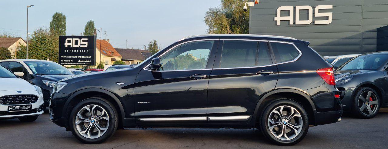 BMW X3 II (F25) xDrive20d 190ch xLine NOIR - 6