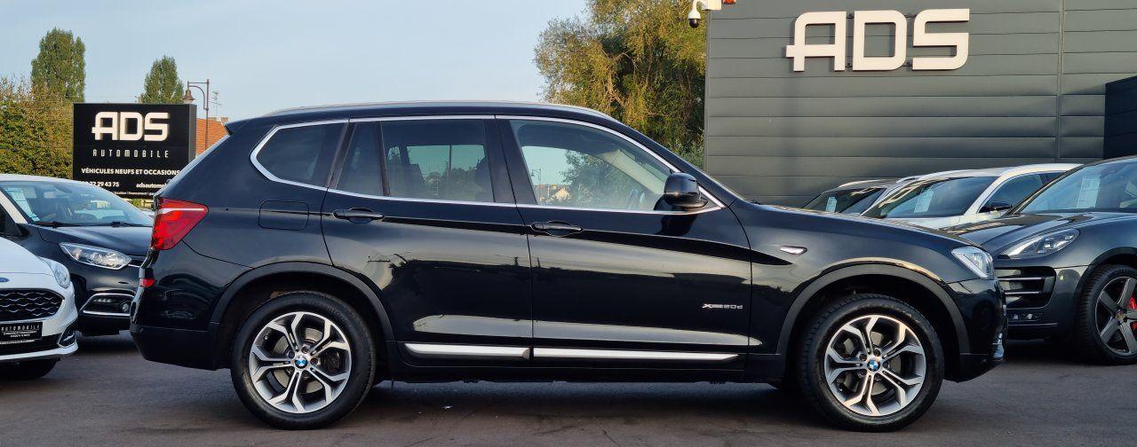 BMW X3 II (F25) xDrive20d 190ch xLine NOIR - 7
