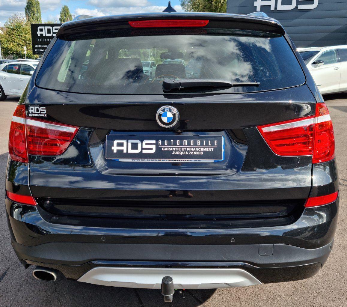 BMW X3 II (F25) xDrive20d 190ch xLine NOIR - 8