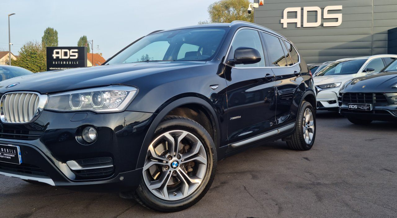BMW X3 II (F25) xDrive20d 190ch xLine NOIR - 10