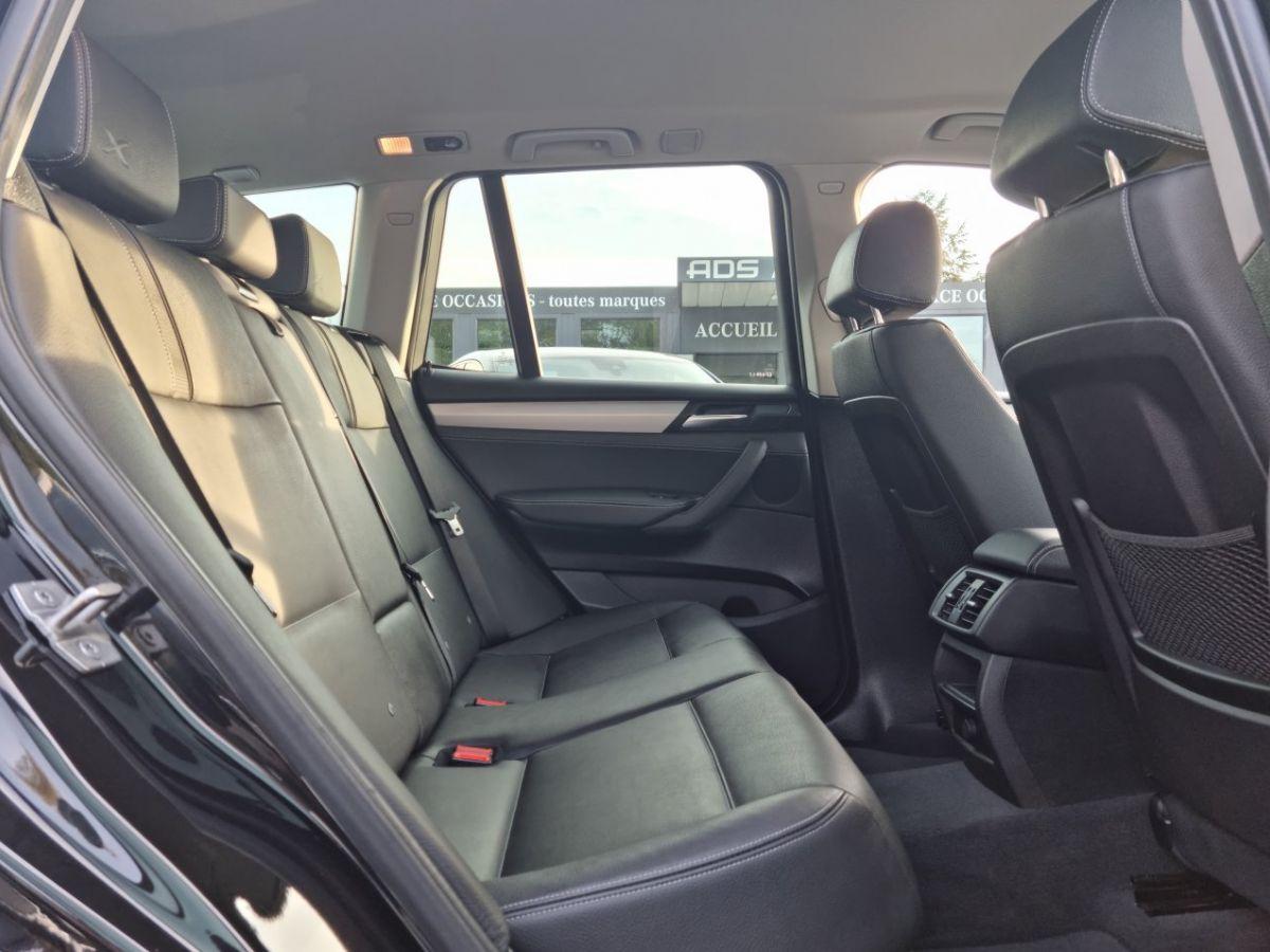 BMW X3 II (F25) xDrive20d 190ch xLine NOIR - 15