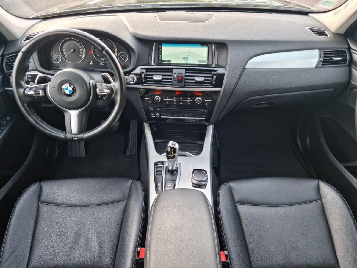 BMW X3 II (F25) xDrive20d 190ch xLine NOIR - 17