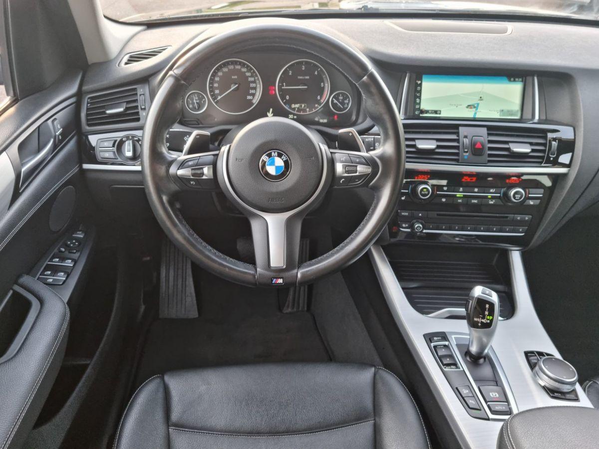 BMW X3 II (F25) xDrive20d 190ch xLine NOIR - 18
