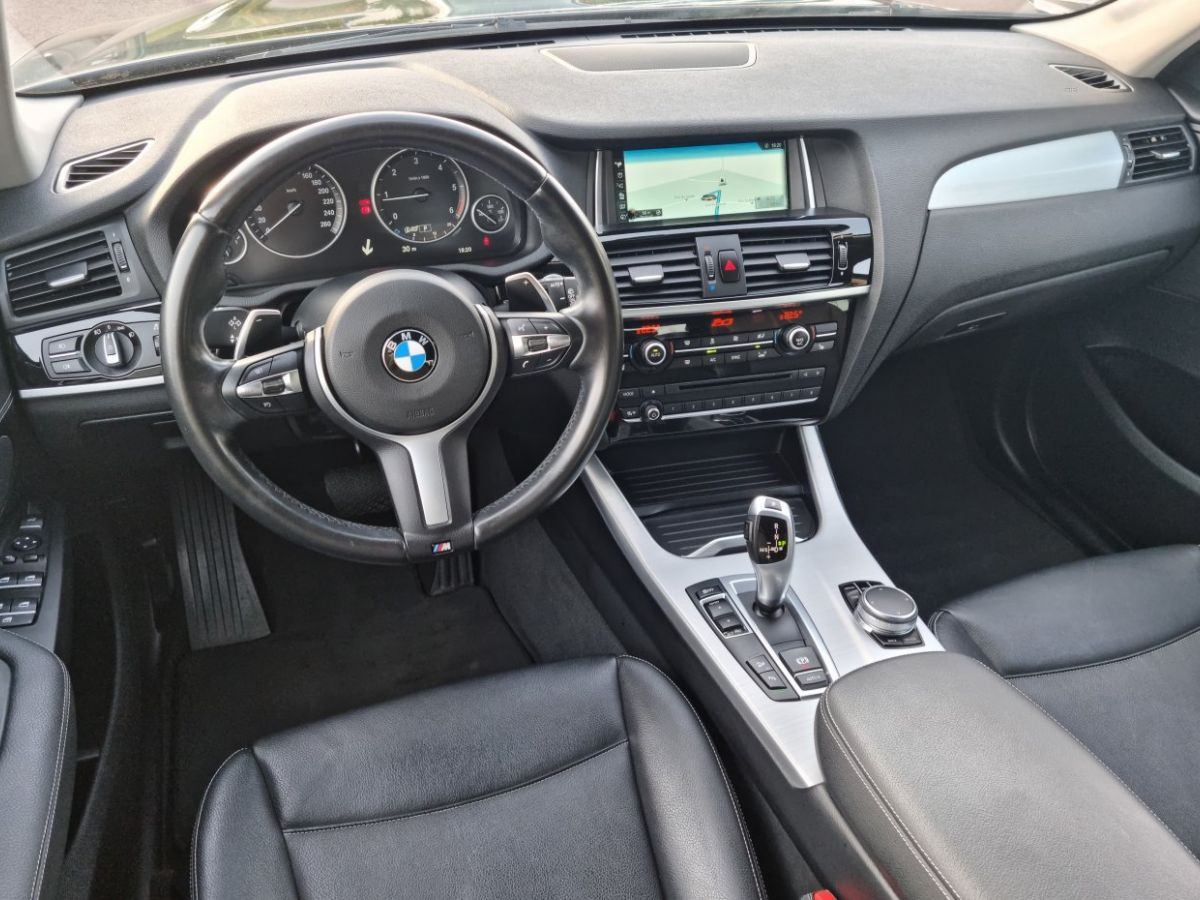 BMW X3 II (F25) xDrive20d 190ch xLine NOIR - 21