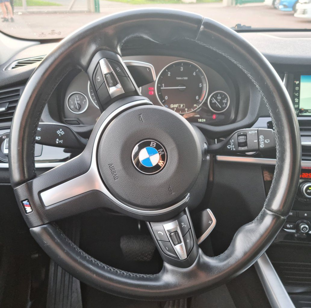 BMW X3 II (F25) xDrive20d 190ch xLine NOIR - 28