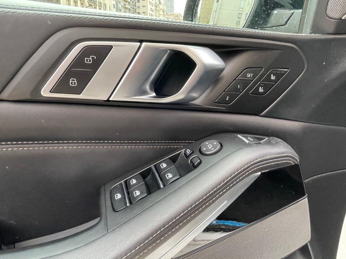 BMW X5 (G05) M50DA 400 7PL Bleu Métallisé - 8