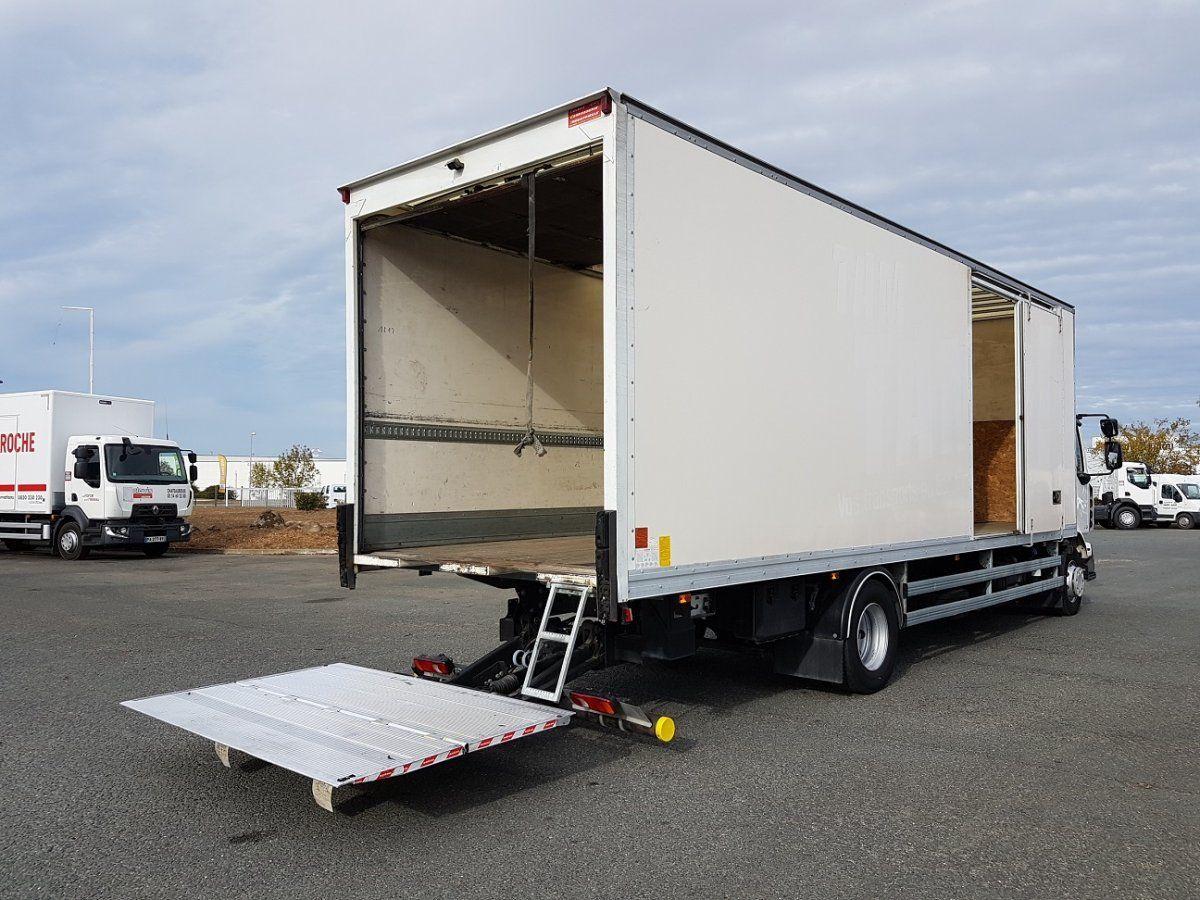 camion porteur renault midlum caisse fourgon hayon l vateur alliance occasion saint. Black Bedroom Furniture Sets. Home Design Ideas