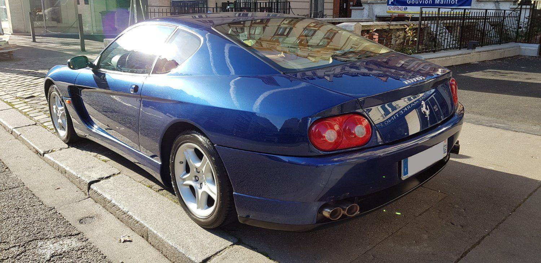 Ferrari 456 FERRARI 456 M GT 5.5 V12 440 Bleu Métallisé - 3