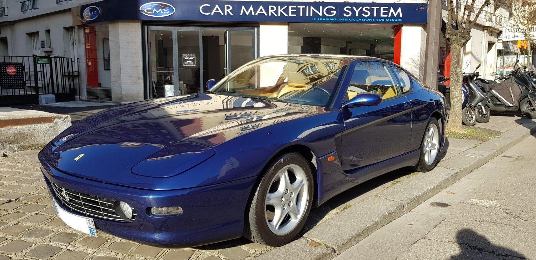 Ferrari 456 FERRARI 456 M GT 5.5 V12 440 Bleu Métallisé - 1