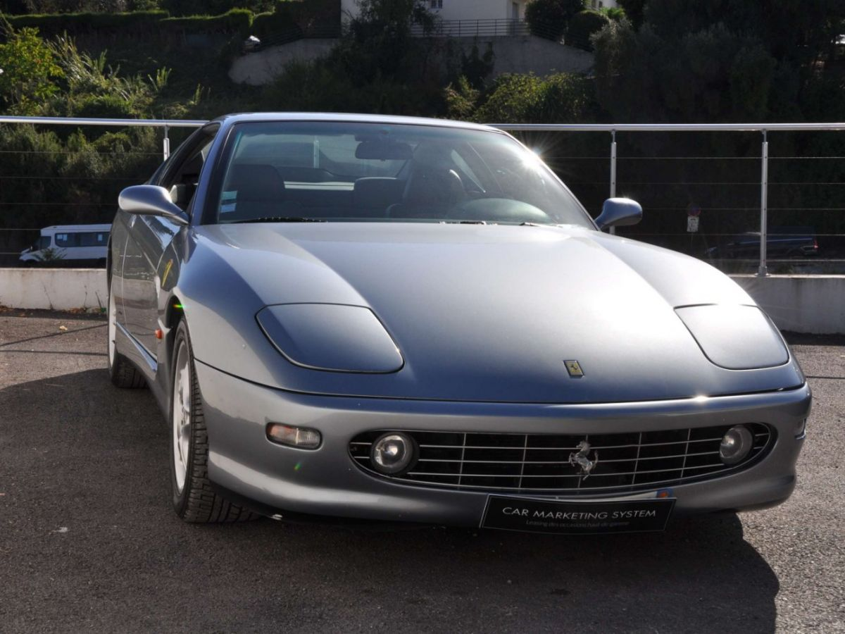 Ferrari 456 M GT Gris Clair - 3