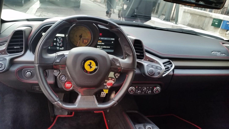 Ferrari 458 Italia 4.5 V8 570CH Blanc - 14