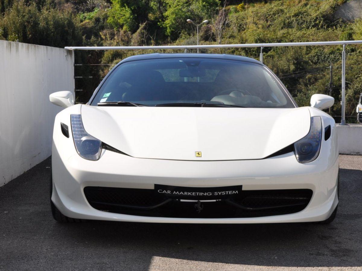 Ferrari 458 Italia 4.5 V8 570CH Blanc - 2