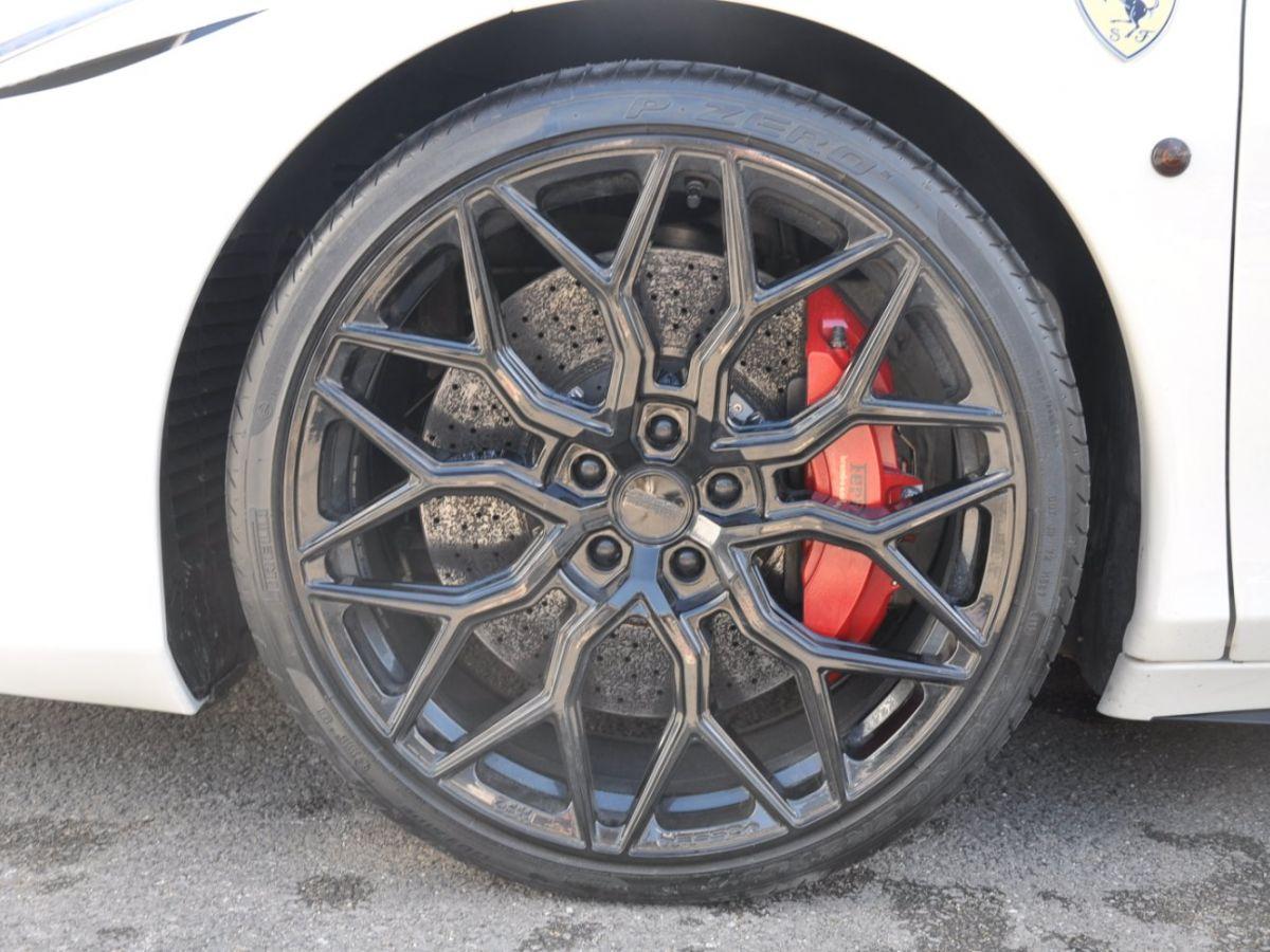 Ferrari 458 Italia 4.5 V8 570CH Blanc - 8