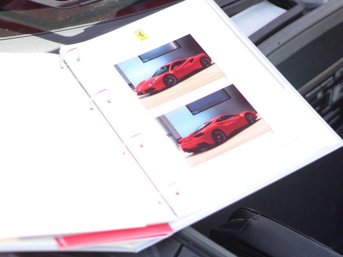 Ferrari 488 GTB GTB TAILOR MADE 70TH EDITION LE CASTELLET 670ch Rouge - 16