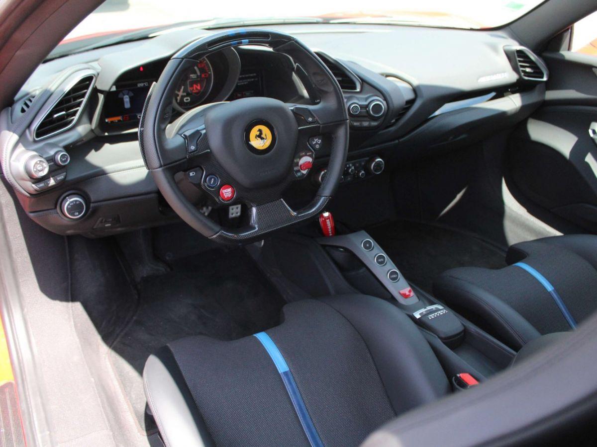 Ferrari 488 GTB TAILOR MADE 70TH EDITION LE CASTELLET 670ch Rouge - 8