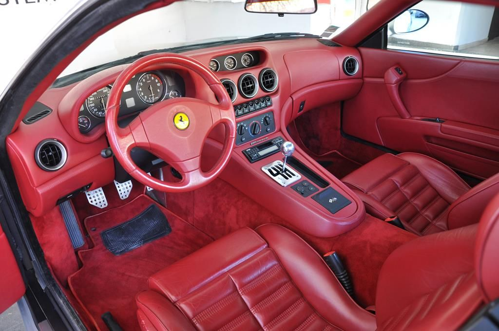 Ferrari 550 Maranello 5.5 V12 Argento Nurburgring - 6