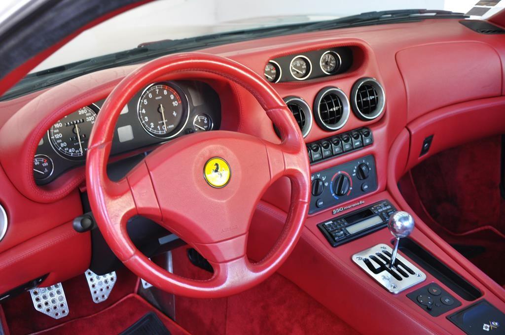 Ferrari 550 Maranello 5.5 V12 Argento Nurburgring - 7