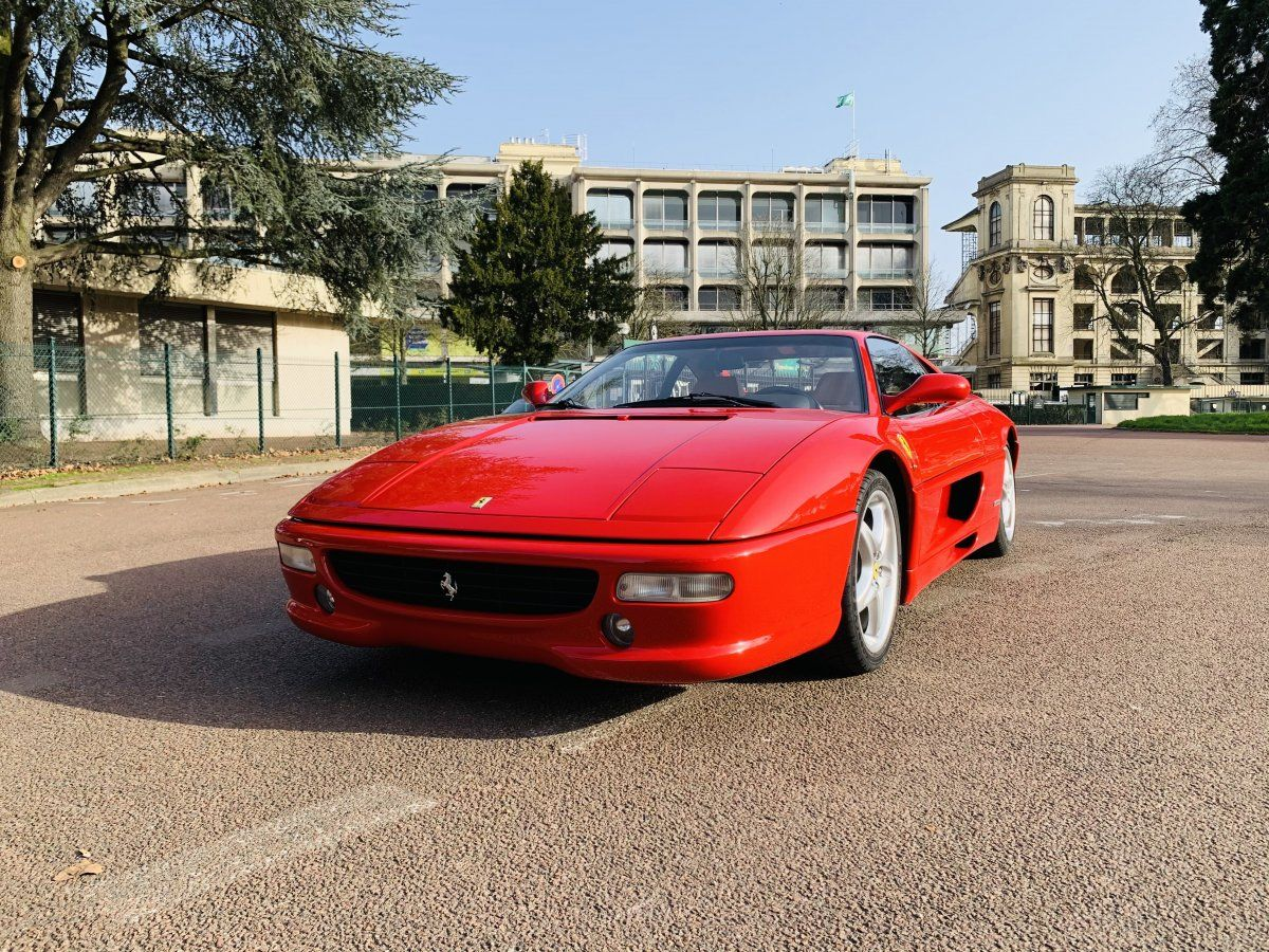 Ferrari F355 Berlinetta Rouge Occasion - 1