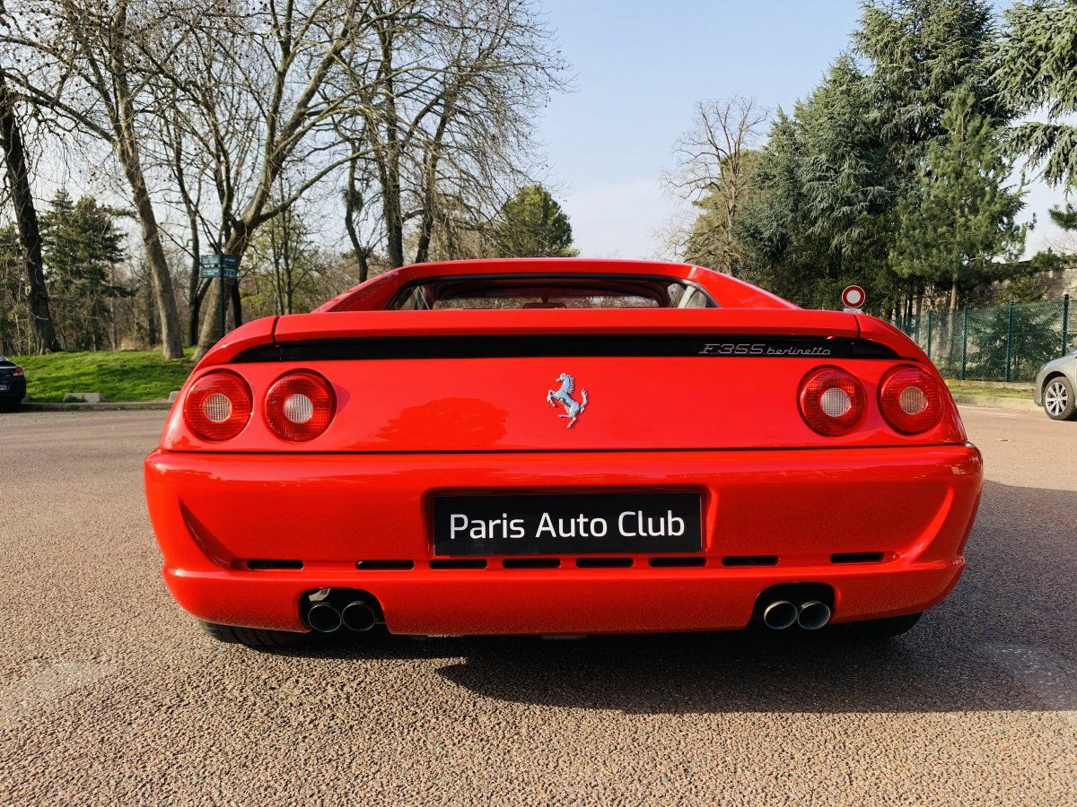 Ferrari F355 Berlinetta Rouge Occasion - 8