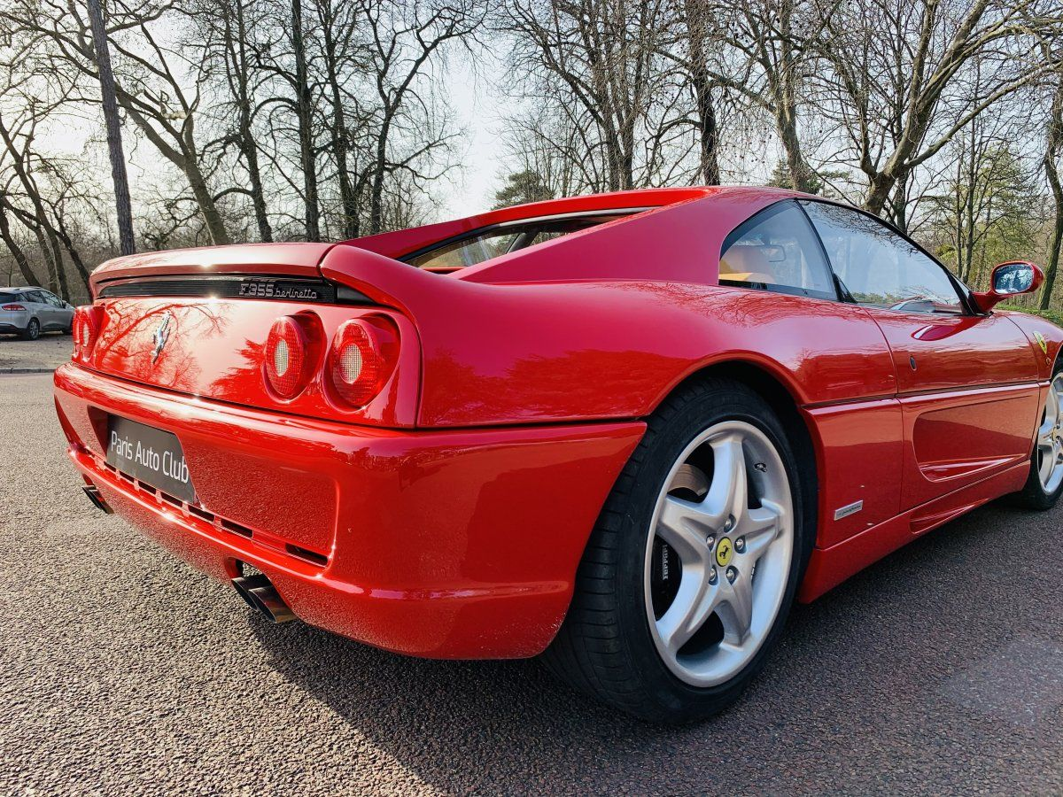 Ferrari F355 Berlinetta Rouge Occasion - 9