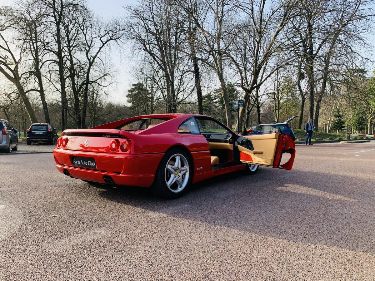 Ferrari F355 Berlinetta Rouge Occasion - 10