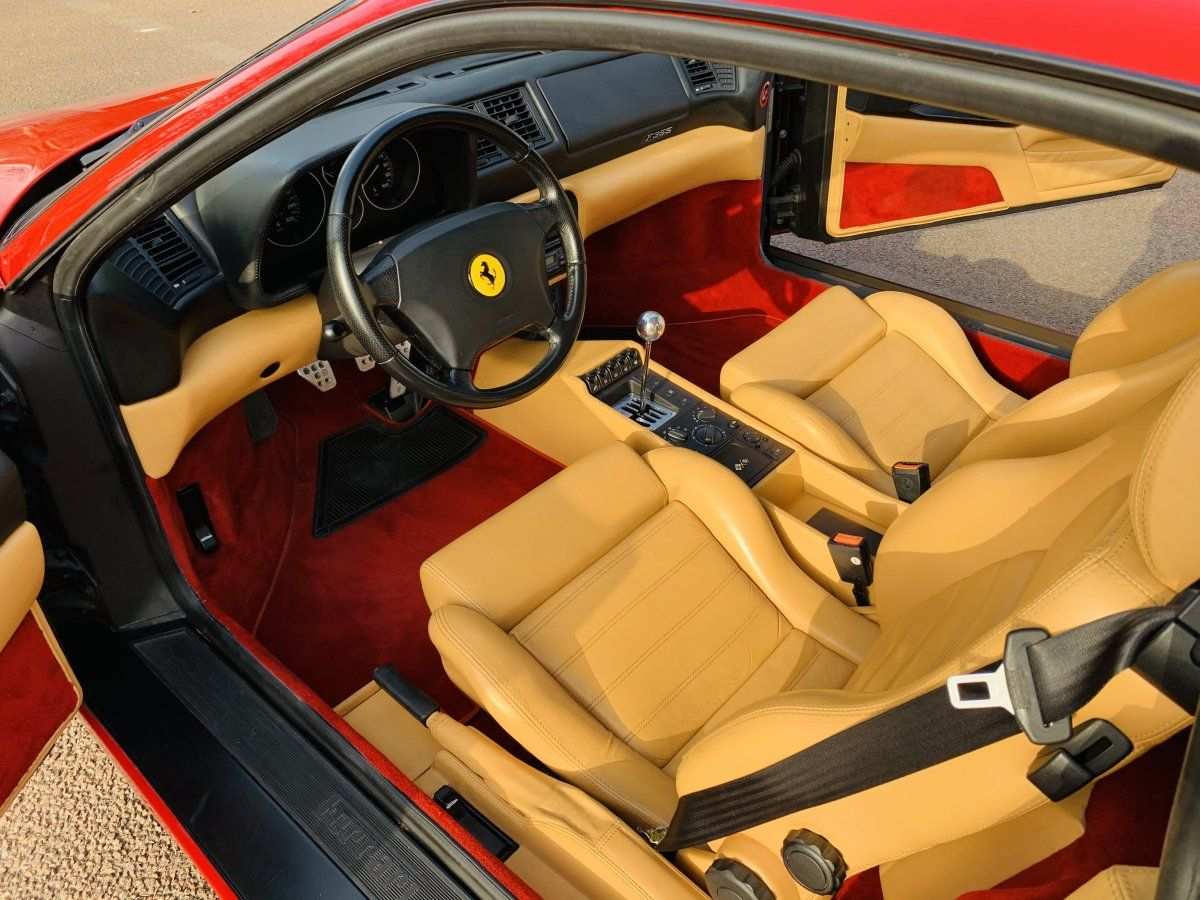Ferrari F355 Berlinetta Rouge Occasion - 14