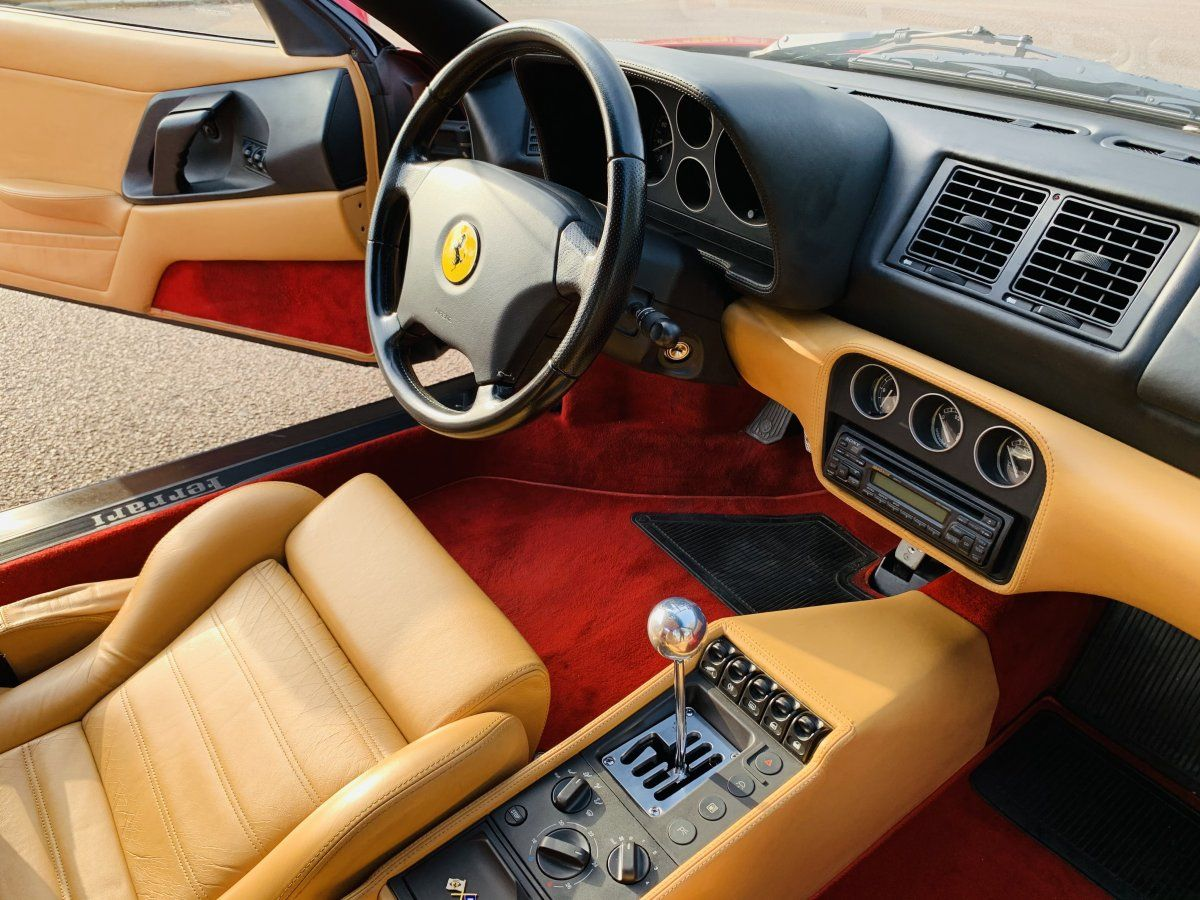 Ferrari F355 Berlinetta Rouge Occasion - 16