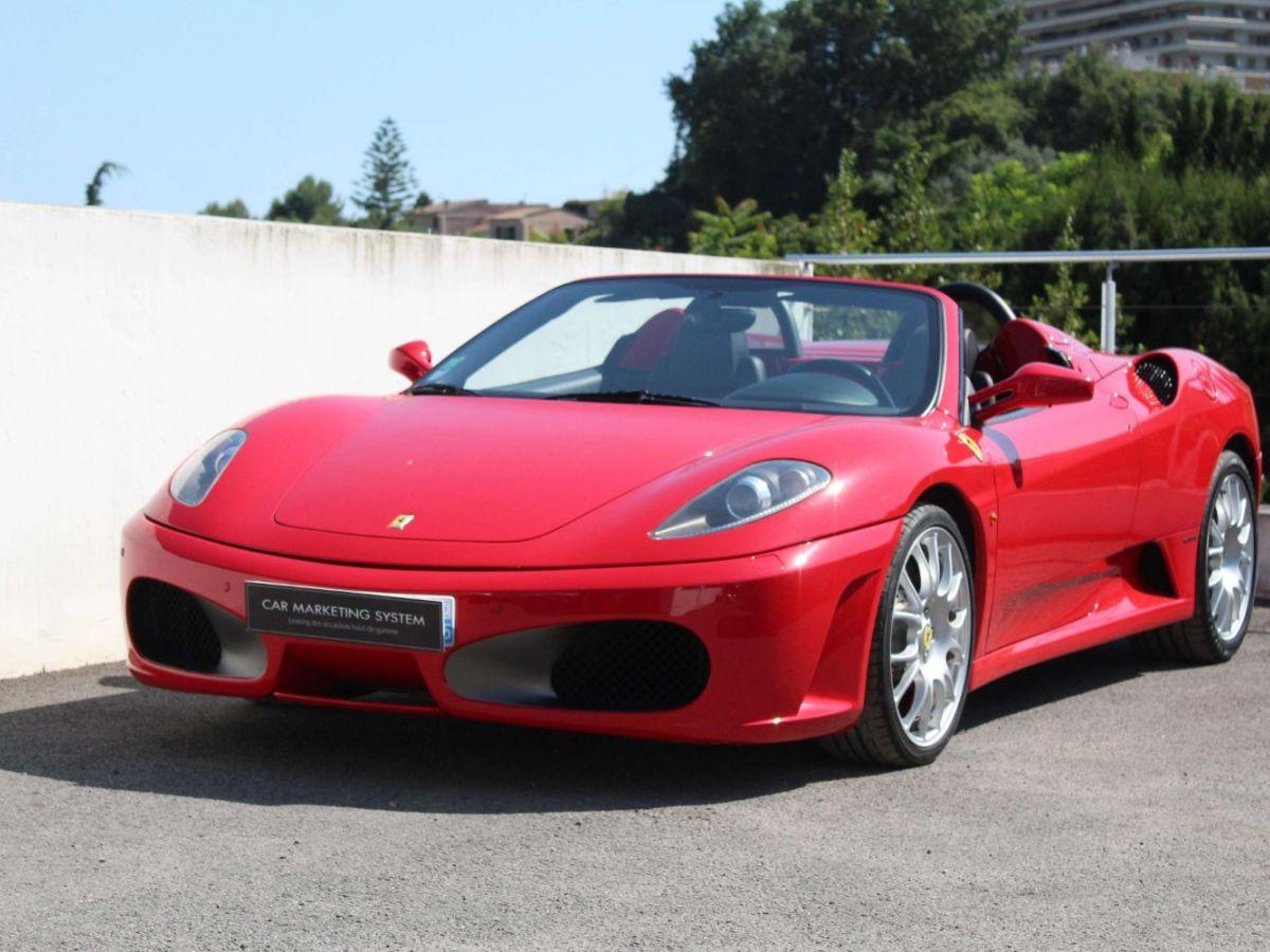 Ferrari F430 Spider F1 490CH Rouge Foncé - 1