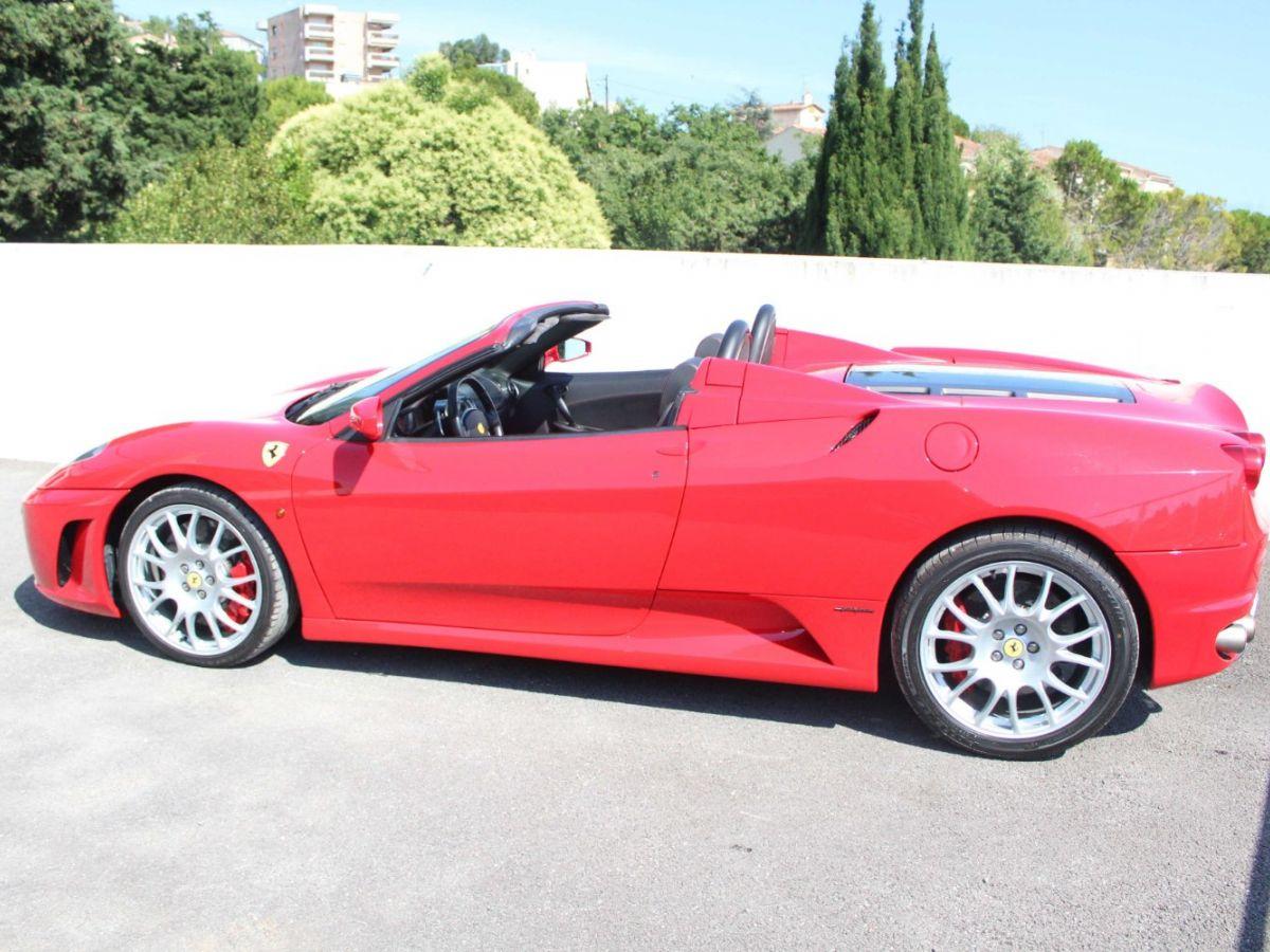 Ferrari F430 Spider F1 490CH Rouge Foncé - 4