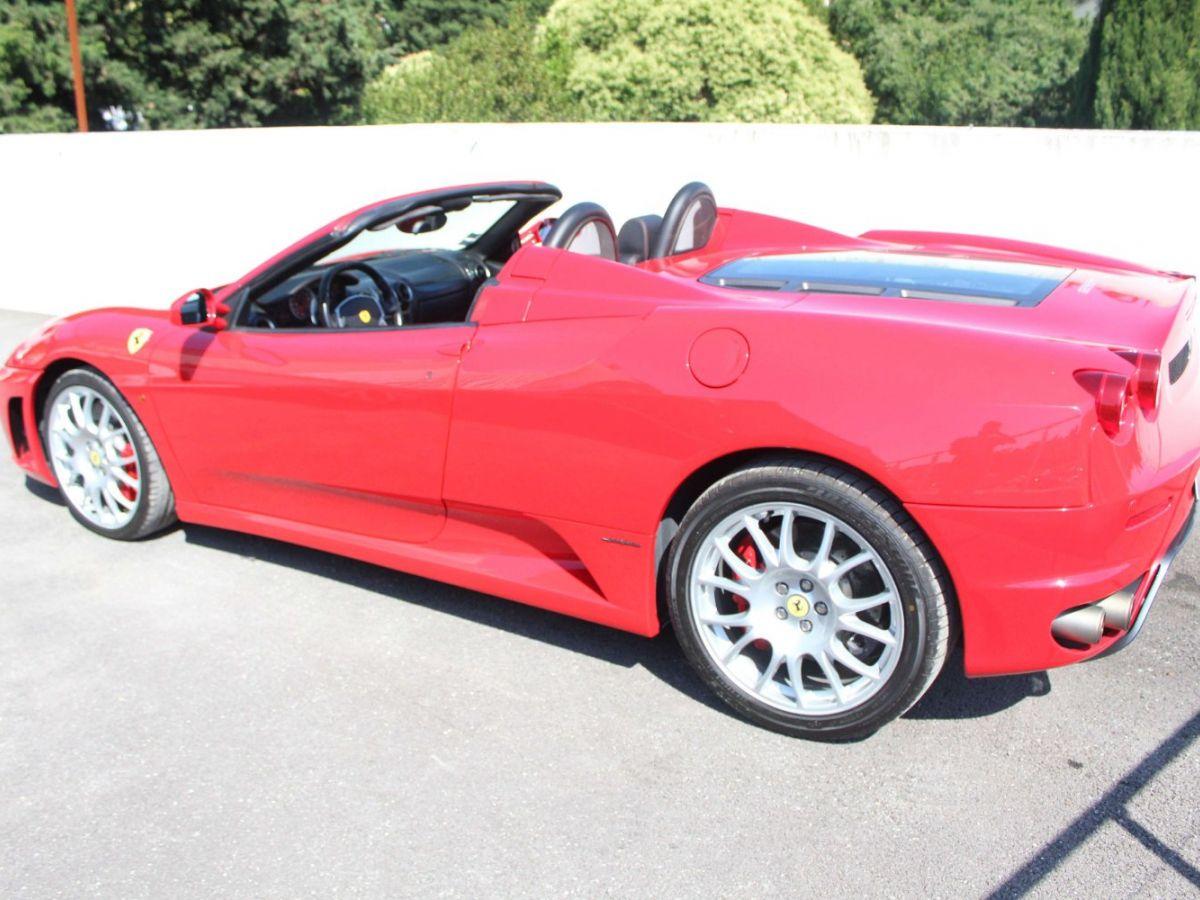 Ferrari F430 Spider F1 490CH Rouge Foncé - 5