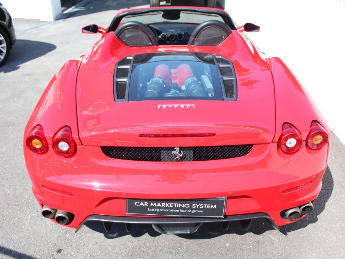Ferrari F430 Spider F1 490CH Rouge Foncé - 6