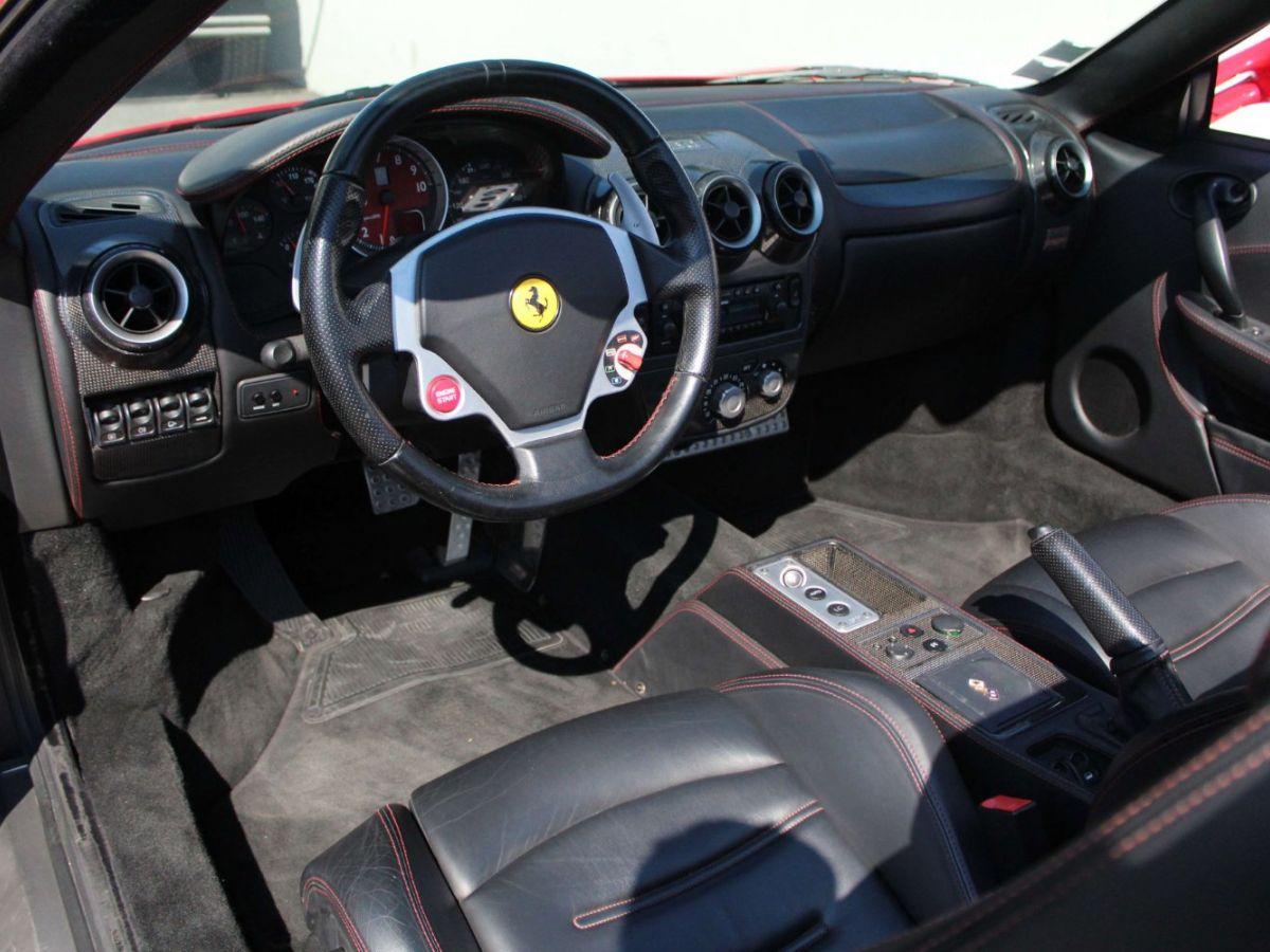 Ferrari F430 Spider F1 490CH Rouge Foncé - 8