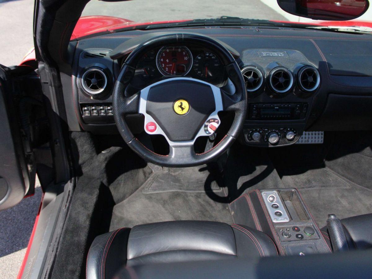 Ferrari F430 Spider F1 490CH Rouge Foncé - 10